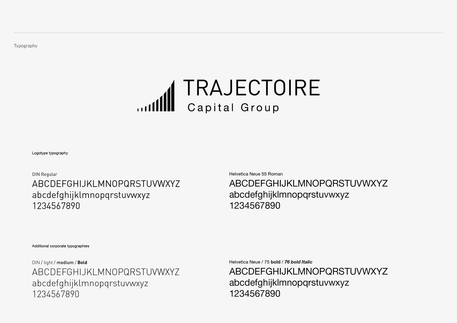 Trajectoire Capital Group | more graphic design